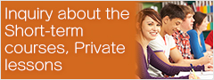 Inquiry about the Short-term courses, Private lessons